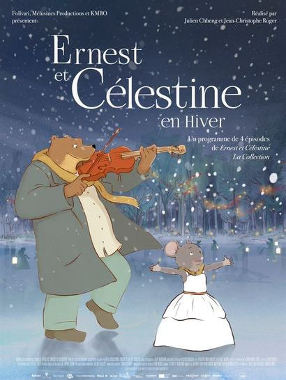 Ernet et Celestine en hiver